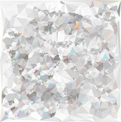 Geomertical Abstract crystal background. Vector Illustration