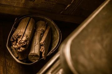 Firewood Logs Bucket