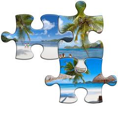 Seychelles, photos puzzles