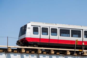 Orange and Silver Train