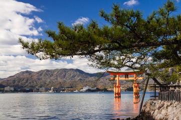 Itsukushima Shrine Torii (Japanese gate)