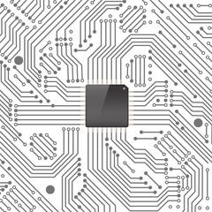 High tech electronic circuit board