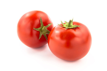 Wall Mural - Two Tomatoes - Clipping Path Inside