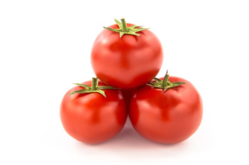Wall Mural - Three Tomatoes - Clipping Path Inside