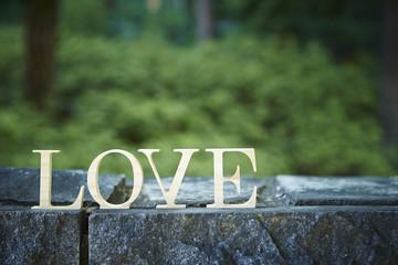 LOVE word