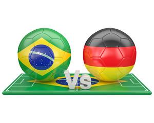 1/2 de finale, coupe du monde 2014