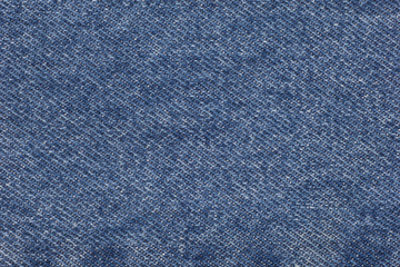 Background of the blue jeans created from the cotton