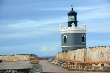 Castillo San Felipe del Morro Lighthouse, San Juan
