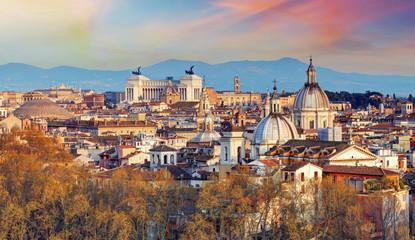 Wall Murals Rome Rome - skyline, Italy