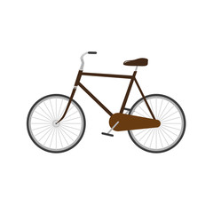 bicycle vector illustration