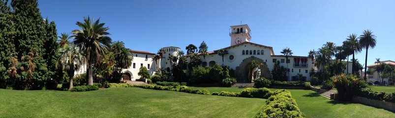 Historic Santa Barbara Court House
