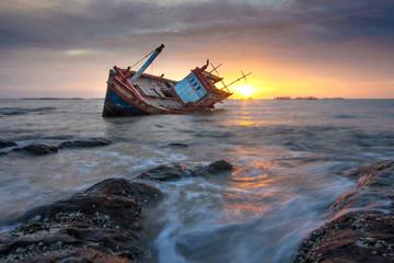 Acrylic Prints Shipwreck shipwreck