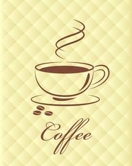 Vector coffee symbol