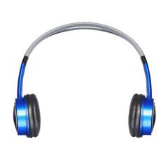 Headphones isolated on white. Music
