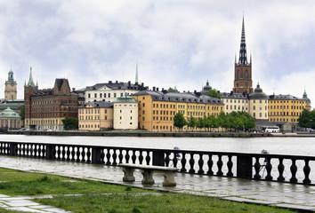 Stockholm, Sweden. Urban landscape.