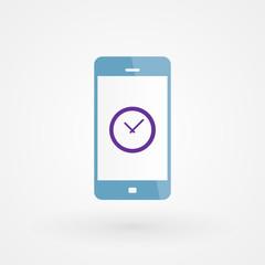 Smartphone and clock