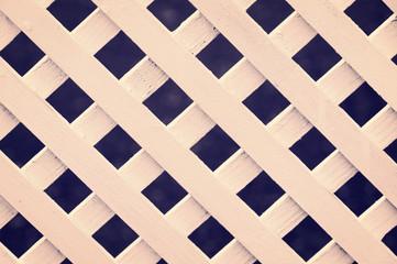 lattice fence pattern