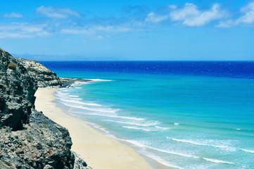 Butihondo Beach in Fuerteventura, Canary Islands, Spain
