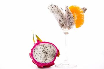 Nanettika fruit for dessert