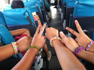 Colorful Loombands