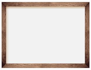 Fototapeta natural wooden photo frame