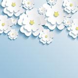 Am mit Blumen geschmückten Himmelsgewölbe