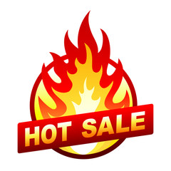 Hot sale fire badge, price sticker, flame