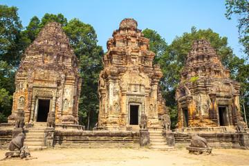 Preah Ko temple in Angkor Wat complex, Siem Reap, Cambodia