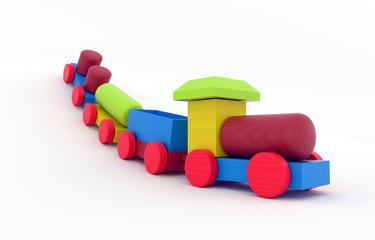 Wooden Toy Train