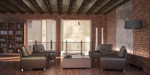 Restorated Interior