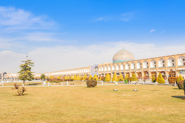 Imam Square in Isfahan, Iran.