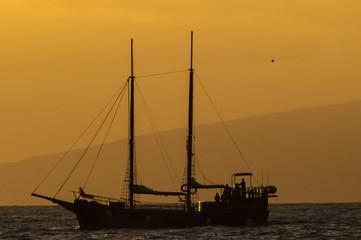 Antique Vintage Sail Vessel