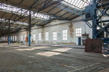 Alter Fabrik Hangar DDR