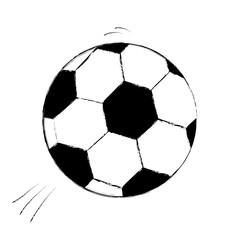 Fußball Fussball WM EM Sport Soccer zeichnung