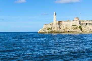 The castle of El Morro, a symbol of Havana