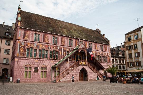 ancienne mairie de Mulhouse en Alsace