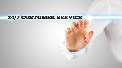 24/7 customer service