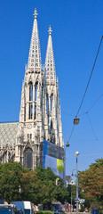 Votive Temple (Votive Churchis) in Vienna, Austria