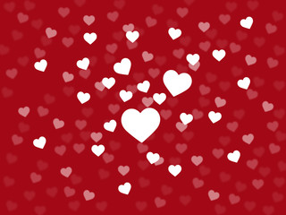 Background Heart Means Valentines Day And Affection