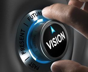 Company or Corporate Vision Concept