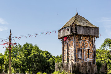 Le Fort de l'An mil au Puy du Fou