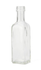 Empty bottle with clipping path
