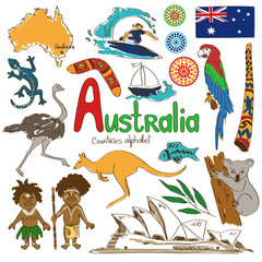 Collection of Australia icons