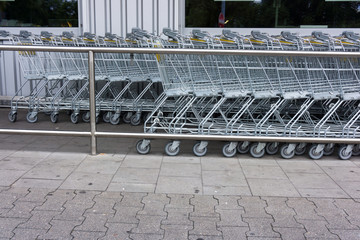 shopping cart. shopping trolley, shopping, business