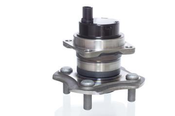 automotive hub bearing on a white background