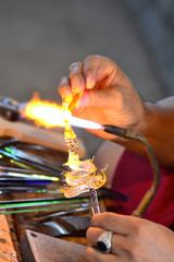 Glass blowing Art