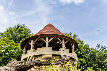 Donjon du Bal des Oiseaux Fantômes au Puy du Fou