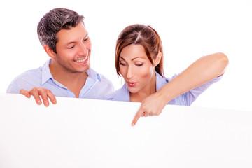 show couple white board