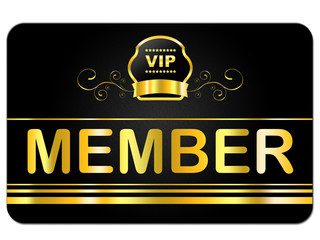 Membership Card Indicates Very Important Person And Admission