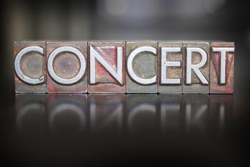 Concert Letterpress